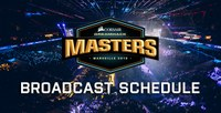 Lịch bình luận Dreamhack Masters Marseille ngày 21/04