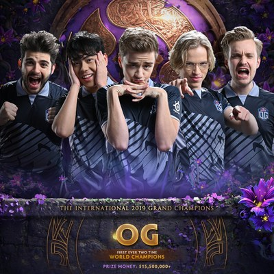 Live Update Grand Final TI9: OG vô địch